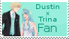 Dustin x Trina Fan Stamp by Starlight-Enterprise