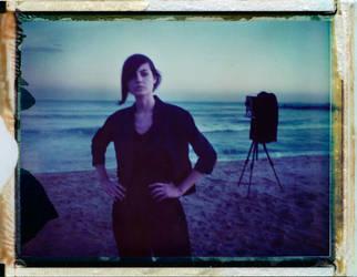 Self-portrait with Yolanda by VladimirBorowicz