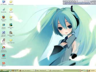 Vocaloid: Hatsune Miku by Rheo