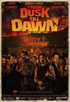 From Dusk Till Dawn poster by smalltownhero