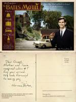 Bates Motel postcard by smalltownhero