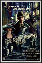 The Dark Knight Rises by smalltownhero