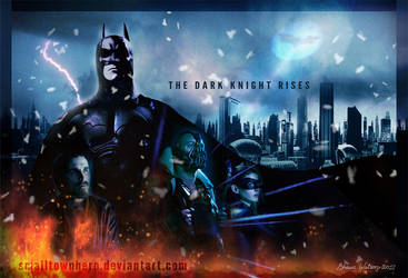 The Dark Knight Rises poster by smalltownhero