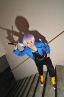 Mirai trunks fighto by ShineUeki33