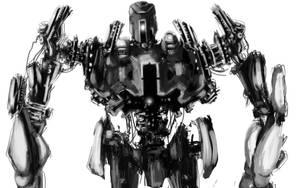 giant robot by atrellus31