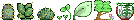 F2U Plants Set by cloversoda