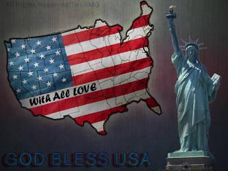 God Bless USA by sakhar