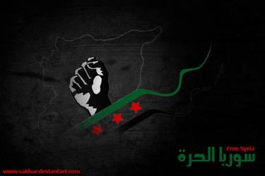 Free Syria by sakhar