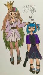 Galaco and Ryone Yami by YumiMegpoid