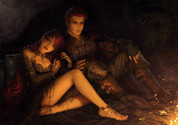 Eura and Feirdon by InaWong