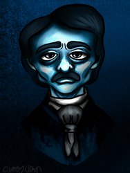 Poe by clumsyclown