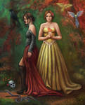 Two Sisters by mpadgett