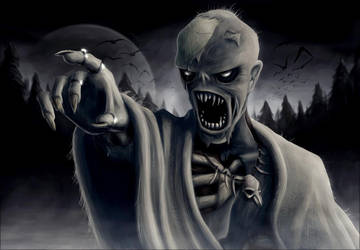 Painting of a Lich by zomby138