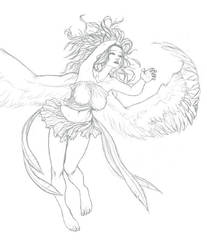 Random angel by zomby138