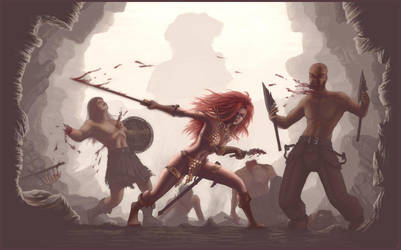 Red Sonja I by zomby138