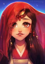 Chinese Bride : More than love fanart 2017 by MrDark91