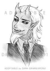 HORNS 02 requests : Black Goat by MrDark91