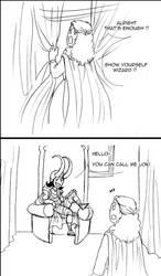Ouat : Loki the wizard by floangel