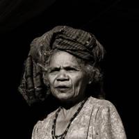Elderly Woman II by Sinaga