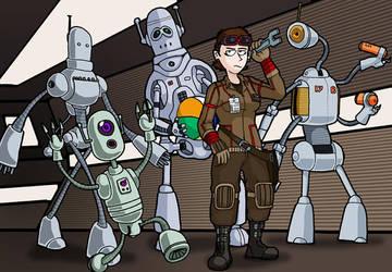 Robot Technician by nick15