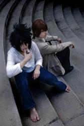 Oppositiona(L) Light to the New World - Death Note by splitimagecosplay