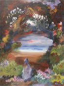lady and the lake by diane-C-phillips