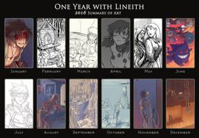 Summary of Art - 2016 by Lineith