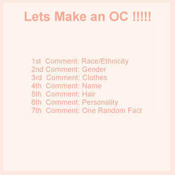 Let's make an Oc by TheCoconutChild1