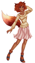 Foxy Hottie by TheCoconutChild1
