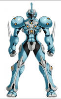 Light Suit+Guyver Fusion. Guyver Lumos by Grey-Forrester