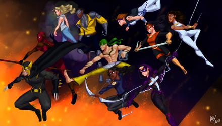Dark Claw and the Outlaws by PedroBRV by Grey-Forrester