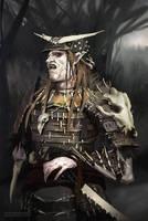 Samurai Orc by ClaudioPilia