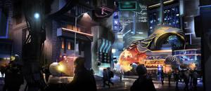 Future Nightlife District by ClaudioPilia