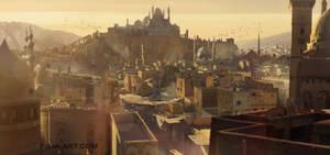 fantasy city by ClaudioPilia