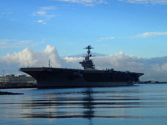 Aircraft Carrier by Chrissice