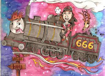 Rock'N'Roll Train by NightDragon07