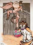 Circus art by NightDragon07