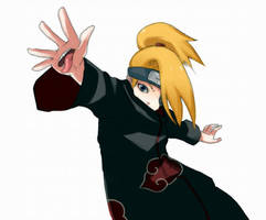 Deidara: reach by tesa-chan