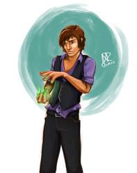 Sorcerer's Apprentice - Gabriel by Ever-Rae