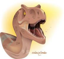t-rex by marciolcastro
