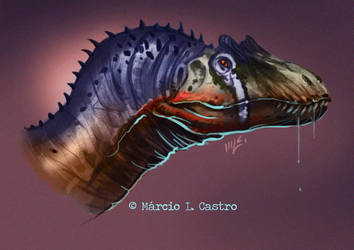 Allosaurus by marciolcastro