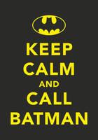CALL BATMAN by tind