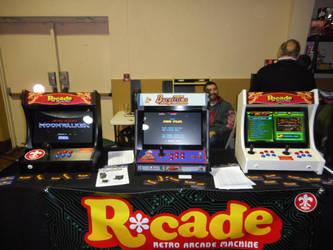 Rcade Vendor Booth by Jarret91