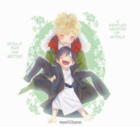 Noragami - Yato and Yukine by Perfectionxanime