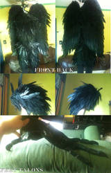 Howl (Howl's Moving Castle) Cosplay WIP by Leustante