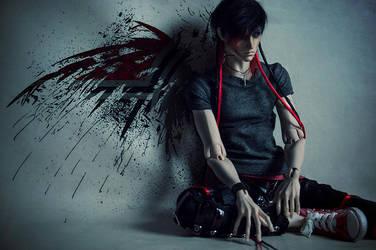 Angel by saikoxix