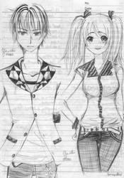 drawing in class! by TsukiYuIchi