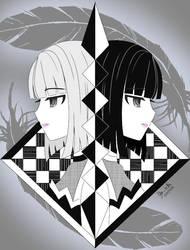 Black and White by TsukiYuIchi