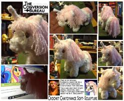 Chatoyance Unicorn Doll by Aealacreatrananda