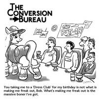 TCB Cartoon: Dress Club by Aealacreatrananda